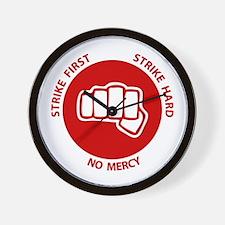 No Mercy Wall Clock
