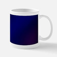 Abstract Haze (Blue) Mugs