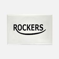 Rockers Rectangle Magnet