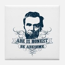 Honest Abesome Tile Coaster