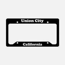 Union City CA License Plate Holder