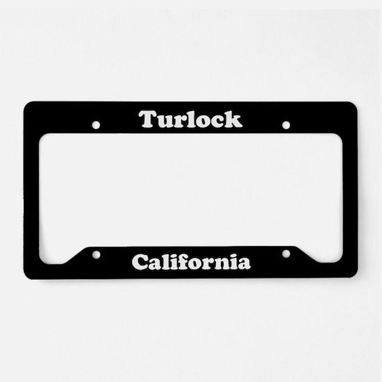 Turlock CA License Plate Holder