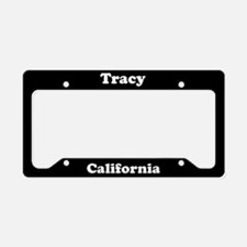 Tracy CA License Plate Holder