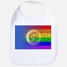 Rainbow Wall Minnesota Bib