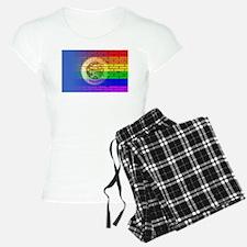 Rainbow Wall Minnesota Pajamas