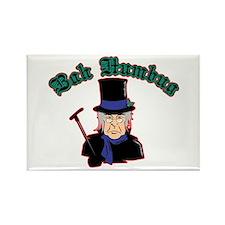 Scrooge Bah Humbug Rectangle Magnet