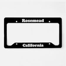 Rosemead CA License Plate Holder
