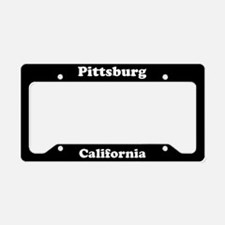 Pittsburg CA License Plate Holder