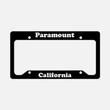 Paramount CA License Plate Holder