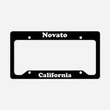 Novato CA License Plate Holder
