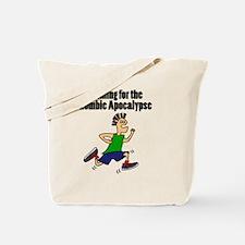 Cute Running zombie Tote Bag
