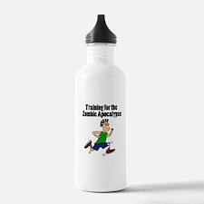 Funny Running Dude Water Bottle