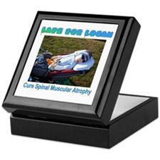 Laps for Logan Keepsake Box