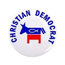 "Christian Democrat 3.5"" Button"