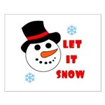 LET IT SNOW Small Poster