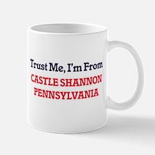 Trust Me, I'm from Castle Shannon Pennsylvani Mugs