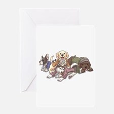 Hamilton Musical x Dogs Greeting Cards
