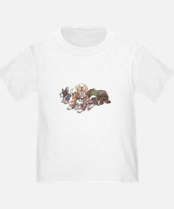 Hamilton Musical x Dogs T-Shirt