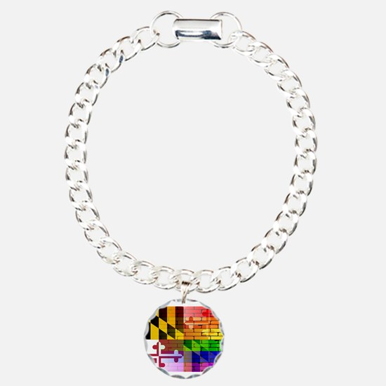 Rainbow Wall Maryland Bracelet
