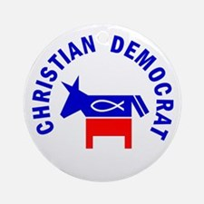 Christian Democrat Ornament (Round)