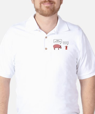 Bacon, I am Your Farther Golf Shirt