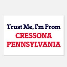 Trust Me, I'm from Cresso Postcards (Package of 8)