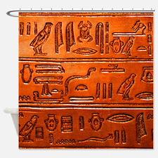 Hieroglyphs20160332 Shower Curtain