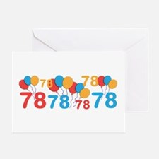 78 years old - 78th Birthday Greeting Cards