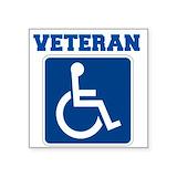 Disabled veteran Square