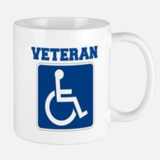 Disabled Handicapped Veteran Mugs