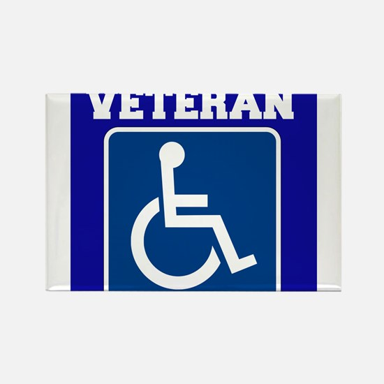 Disabled Handicapped Veteran Magnets