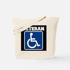 Disabled Handicapped Veteran Tote Bag