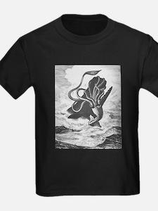 Giant Squid vs. Sperm Whale T-Shirt