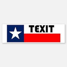 Cool Texas secession Sticker (Bumper)