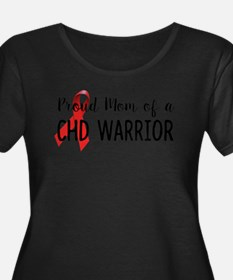 CHD Warrior Mom Plus Size T-Shirt