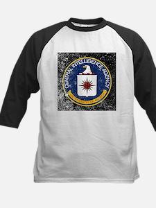 CIA Grunge Logo Baseball Jersey