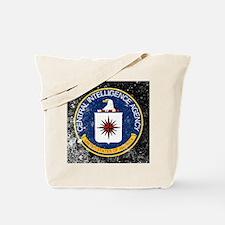 CIA Grunge Logo Tote Bag
