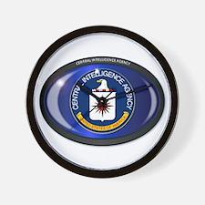 CIA Flag Oval Wall Clock