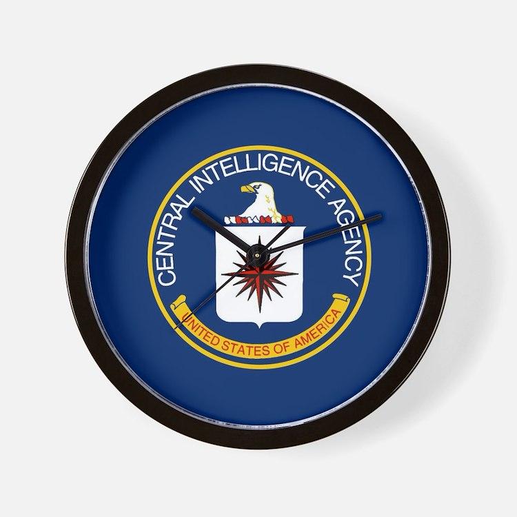 CIA Flag Wall Clock