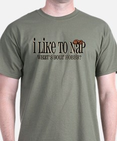 I Like To Nap Dog T-Shirt