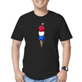 4th of july kids Fitted T-shirts (Dark)