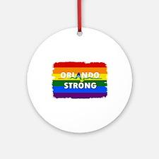 Orlando Strong Pulse Round Ornament