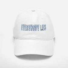 Retro Everybody Lies Baseball Baseball Cap