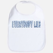 Retro Everybody Lies Bib
