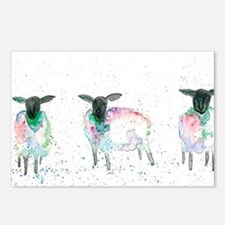 Cute Animals sheep Postcards (Package of 8)