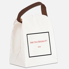 Funny 1111 Canvas Lunch Bag