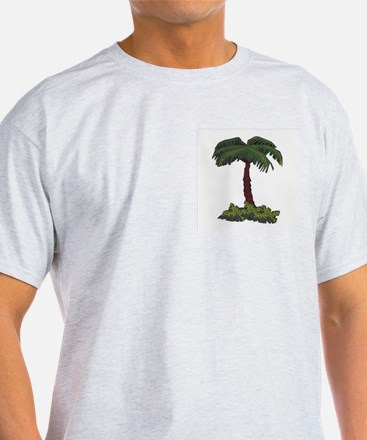 PalmTree T's and Camel Ash Grey T-Shirt