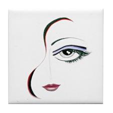 LAUREN (Freeform) Tile Coaster