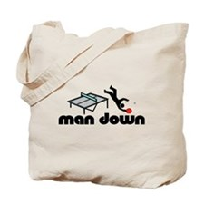 man down ponger Tote Bag