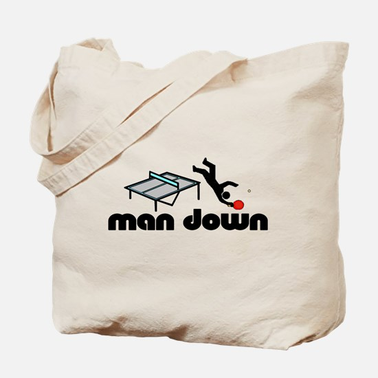 man down ponger Tote Bag
